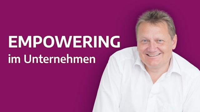Empowering im Unternehmen Banner
